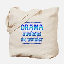 Drama Awakens Tote Bag