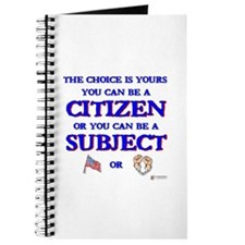 Citizen or Subject Journal