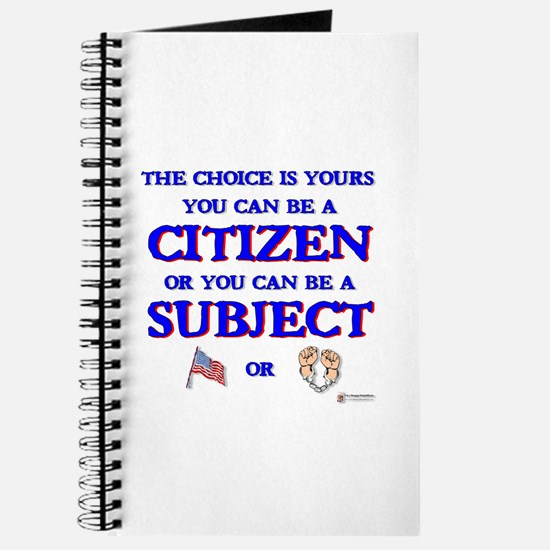 Citizen or Subject Journal
