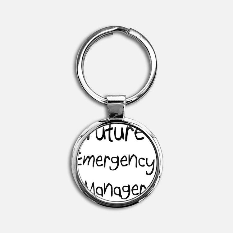 Emergency-Manager45 Round Keychain