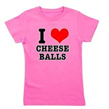 CHEESE BALLS.png Girl's Tee