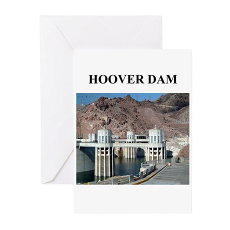 hoover dam gifts and t-shirts Greeting Cards (Pack