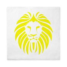 Yellow Lion Mane Queen Duvet
