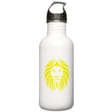 Yellow Lion Mane Sports Water Bottle
