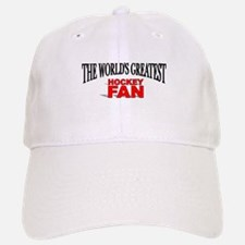 """The World's Greatest Hockey Fan"" Baseball Baseball Cap"