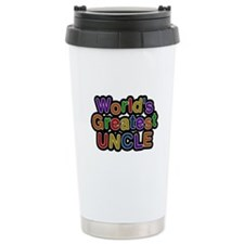 World's Greatest Uncle Travel Mug