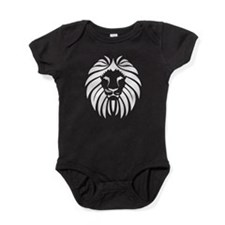 White Lion Mane Baby Bodysuit