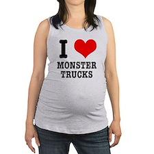 monster trucks.png Maternity Tank Top