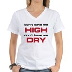 The Bends High and Dry black and red stacked T-Shi