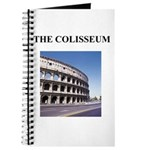 the colisseum rome italy gift Journal