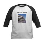 the colisseum rome italy gift Kids Baseball Jersey