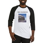 the colisseum rome italy gift Baseball Jersey