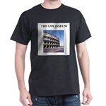 the colisseum rome italy gift Dark T-Shirt