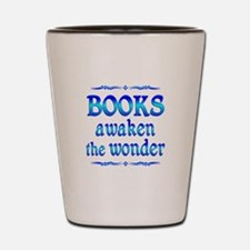 Books Awaken Shot Glass