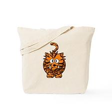 Cartoon Liger Tote Bag