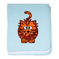 Cartoon Liger baby blanket