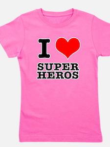 SUPER HEROS.png Girl's Tee