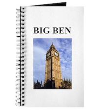 big ben london england gifts Journal