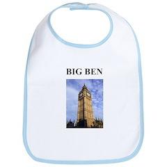 big ben london england gifts Bib