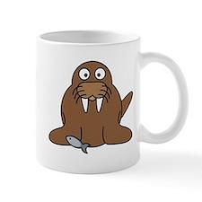 Cartoon Walrus Small Mug