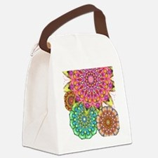 Floral Patten 2 Canvas Lunch Bag