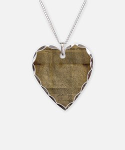 The Declaration of Independence Necklace