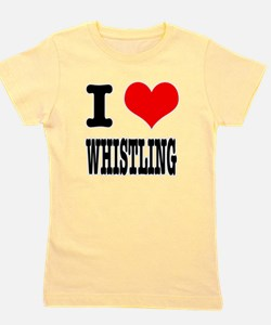 WHISTLING.png Girl's Tee