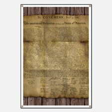 The Declaration of Independence Banner