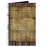 Declaration of independence Journals & Spiral Notebooks