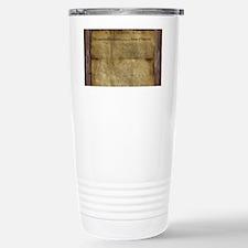 The Declaration of Independence Travel Mug