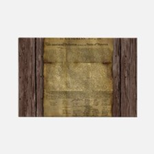 The Declaration of Independence Rectangle Magnet