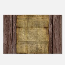 The Declaration of Independence Postcards (Package