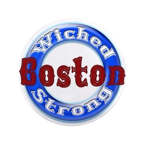"WS Patriots 3.5"" Button"
