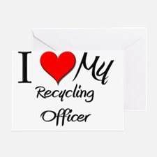 Recycling-Officer124 Greeting Card