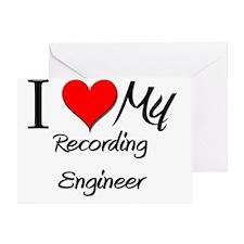 Recording-Engineer100 Greeting Card