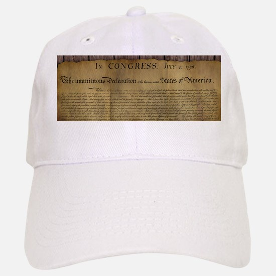 The Declaration of Independence Baseball Baseball Baseball Cap
