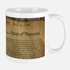 The Declaration of Independence Mug