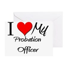 Probation-Officer80 Greeting Card