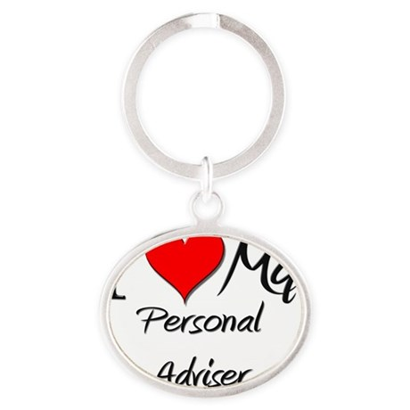 Personal-Adviser102 Oval Keychain