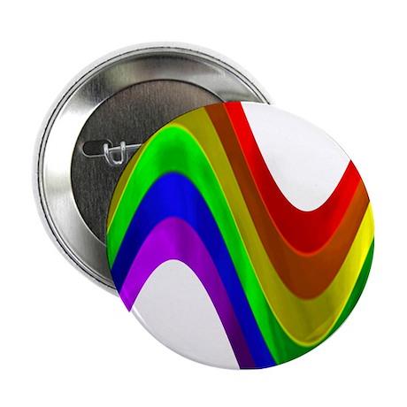 RAINBOW METALLIC WAVE Button