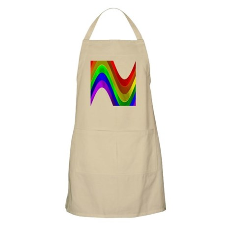 RAINBOW METALLIC WAVE BBQ Apron