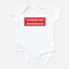 I'm the Env. Scientist Infant Bodysuit