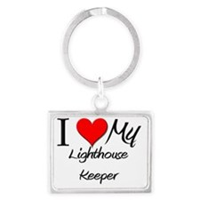 Lighthouse-Keeper108 Landscape Keychain