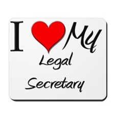 Legal-Secretary13 Mousepad