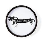 Get A Long Little Doggie Wall Clock