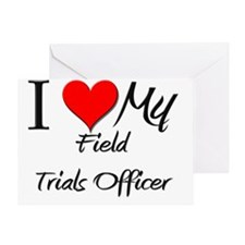 Field-Trials-Officer119 Greeting Card