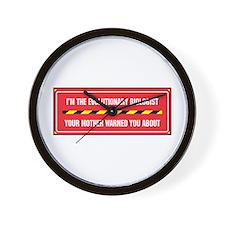 I'm the Evo. Biologist Wall Clock