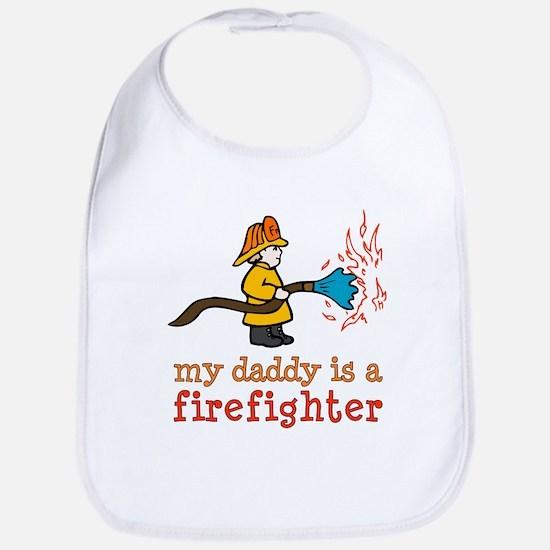 My Daddy is a Firefighter Bib