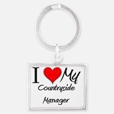 Countryside-Manager76 Landscape Keychain