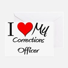 Corrections-Officer119 Greeting Card